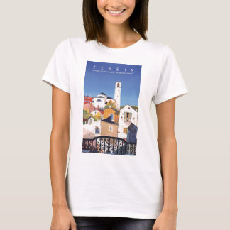 Vintage Ticino Tessin Canton Switzerland T-Shirt