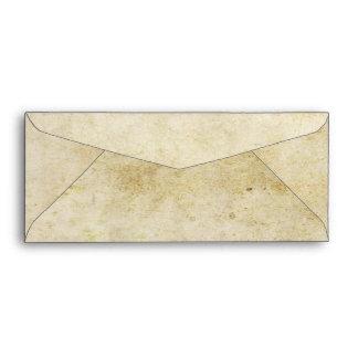 Vintage Ticket Wedding Envelope