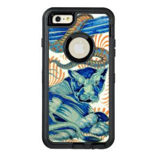 Vintage Tiger And Snake Design OtterBox Defender iPhone Case