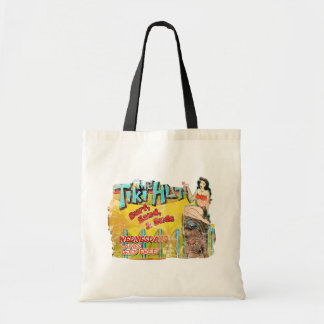Vintage Tiki Hut Funny Bag