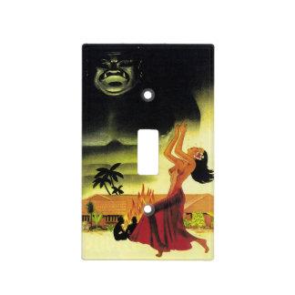 Vintage Tiki Menu Light Switch Cover
