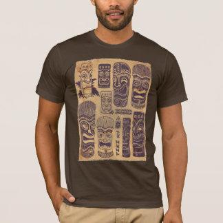 Vintage Tiki Set T-Shirt