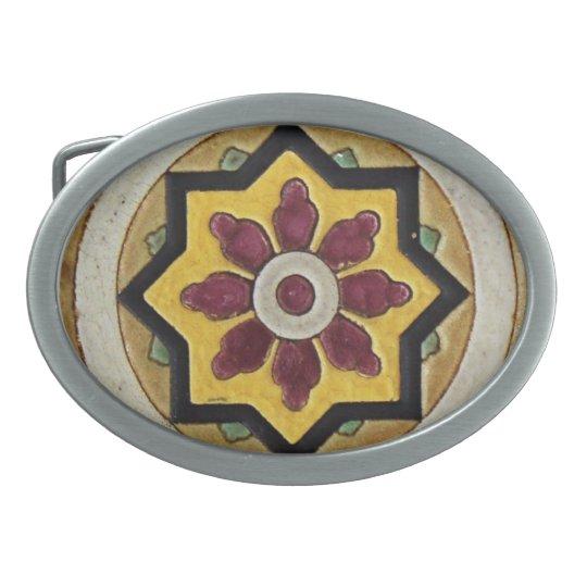 Vintage Tile Belt Buckle
