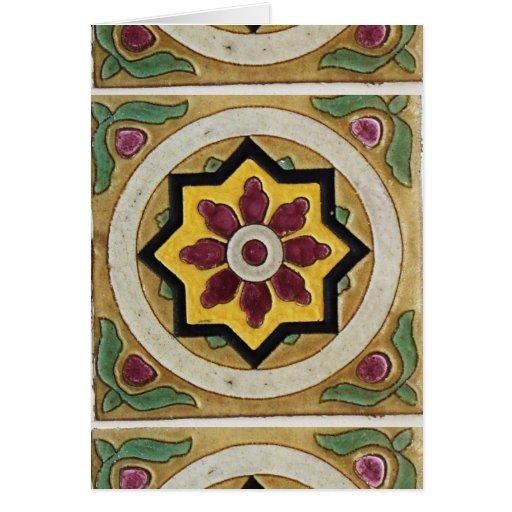 Vintage Tile Greeting Cards