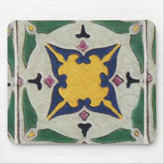 Vintage Tile Mouse Pad