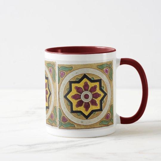 Vintage Tile Mug
