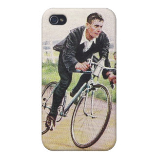 Vintage Time Trial Cyclist Speck Case