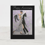 "Vintage, Timeless Love, anniversary card<br><div class=""desc"">Original design from a painting by, Dian... ... ..A beautiful couples anniversary card wishing happiness and many more years of the timeless and special love they share together. There is a matching poster that would make a beautiful gift for that special relative, like your mom and dad, sister, brother, aunt...</div>"