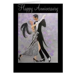 Vintage, Timeless Love, Anniversary Card at Zazzle