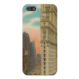 Vintage Times Square New York iphone 4 Case