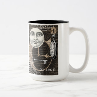 Vintage Timeworks...mug Two-Tone Coffee Mug