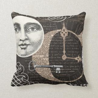 Vintage Timeworks...pillow Throw Pillow