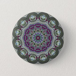 Vintage Tin - Paisley Print Button