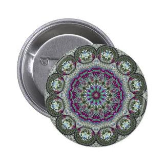 Vintage Tin - Paisley Print Pins