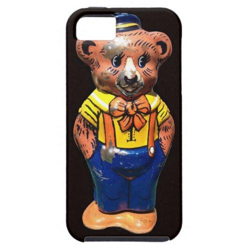 Vintage Tin Windup Teddybear iPhone SE55s Case