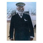 Vintage titánico de capitán Edward Smith del RMS Tarjetas Postales