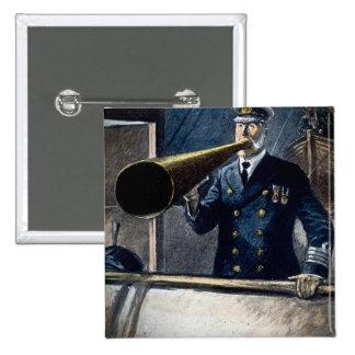 Vintage titánico de capitán Edward Smith RMS Pins