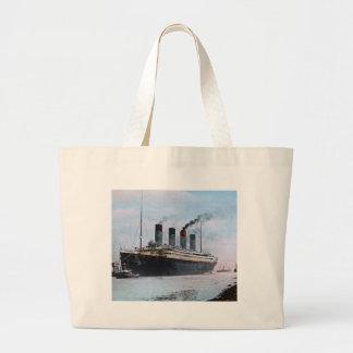 Vintage titánico del RMS Belfast Irlanda Bolsa De Mano