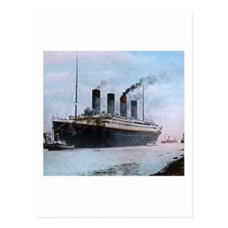 Vintage titánico del RMS Belfast Irlanda Postal