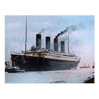 Vintage titánico del RMS Belfast Irlanda Tarjetas Postales