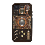 Vintage TLR Camera Dark Edition Vibe iPhone 4 Covers