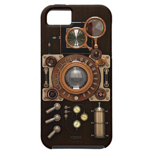 Vintage TLR Camera Dark Edition iPhone 5 Cover