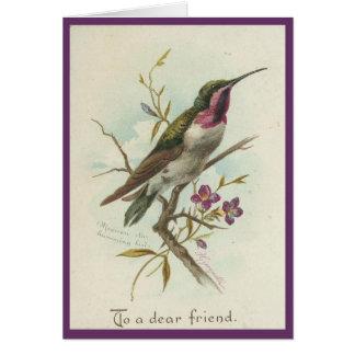 Vintage - To A Dear Friend Card