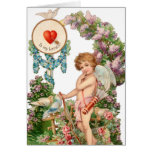 Vintage To My Love Greeting Card