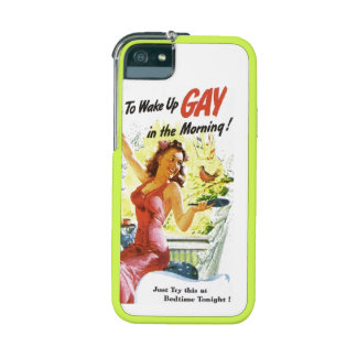 """Vintage """"To Wake Up Gay"""" Phone SE/5/5s Case"""