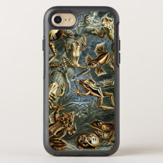 Vintage Toads and Frogs Batrachia by Ernst Haeckel OtterBox Symmetry iPhone 8/7 Case