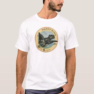 Vintage Tobacciana Advert - Happy Bird Choice Leaf T-Shirt