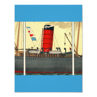 Vintage Tobacco Ad Red Funnel Card