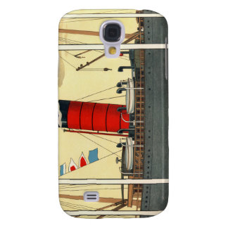 Vintage Tobacco Ad Red Funnel Galaxy S4 Cover