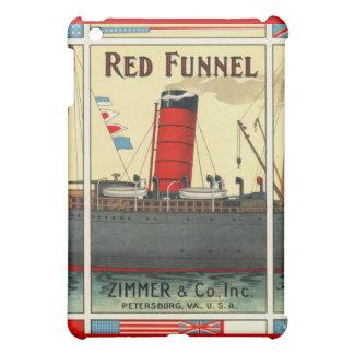 Vintage Tobacco Ad Red Funnel iPad Mini Cases