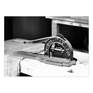 Vintage Tobacco Cutter~Antique Tobacciana Business Cards