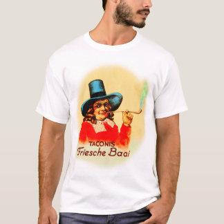 Vintage Tobacco Dutch Smoking Pipe Friesche Baai T-Shirt
