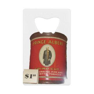 Vintage Tobacco Packaging Credit Card Bottle Opener
