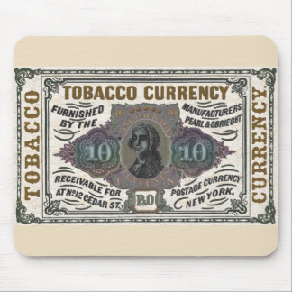 Vintage Tobacco Promotional item - colorized Mouse Pad