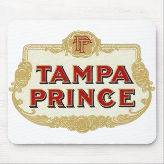 Vintage Tobbacco Cigars Tampa Prince LabelVintage Mouse Pad