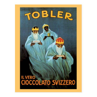 Vintage Tobler Chocolate Advertisement Post Card