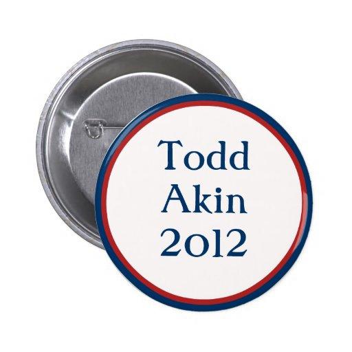 Vintage Todd Akin Button