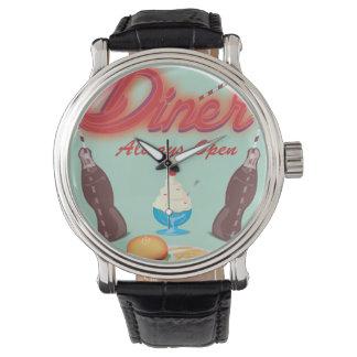 Vintage todo el comensal americano reloj