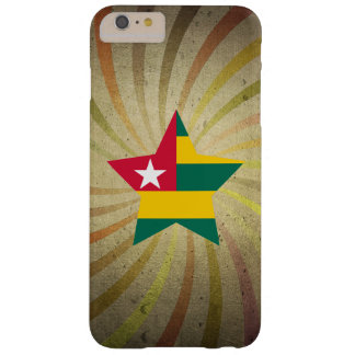 Vintage Togolese Flag Swirl Barely There iPhone 6 Plus Case