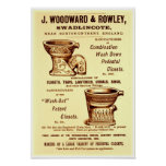 Vintage Toilet Ad Poster