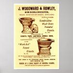 Vintage Toilet Ad Poster