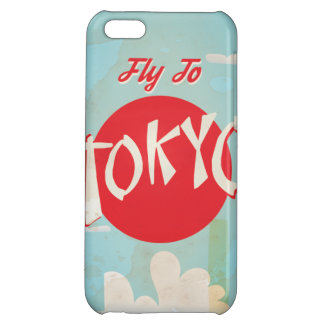 Vintage Tokyo, Japan Travel Posters Case For iPhone 5C