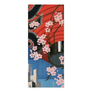 Vintage Tokyo travel Card
