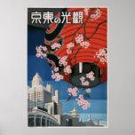 Vintage Tokyo travel Print
