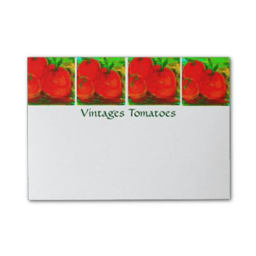 __apples__boutique_ Vintage Tomatoes Post-it Notes