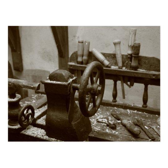 Vintage tools postcard